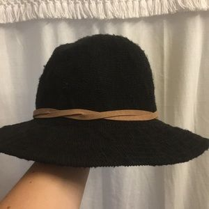 Urban Outfitters black beach hat